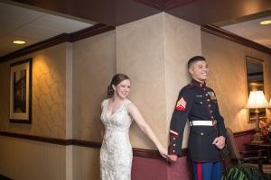Catie & Tony's Top Gun Wedding!