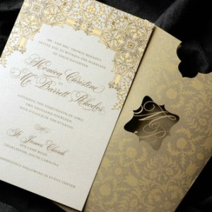 Courtesy of Luscious Verde Custom Invitations
