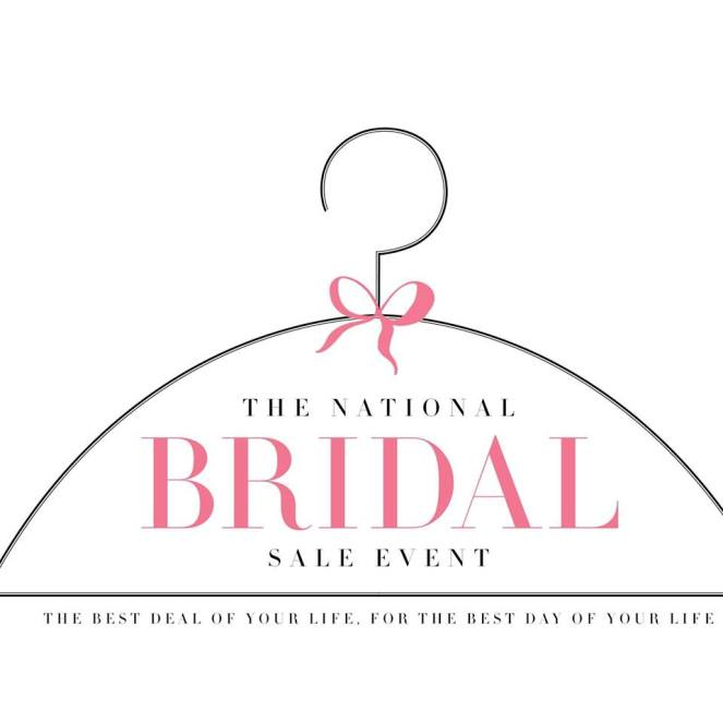 2017 Nat'l Bridal Sale Logo